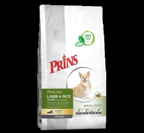 Prins Prins ProCare croque lamb&rice senior hypoallergic 10 kg