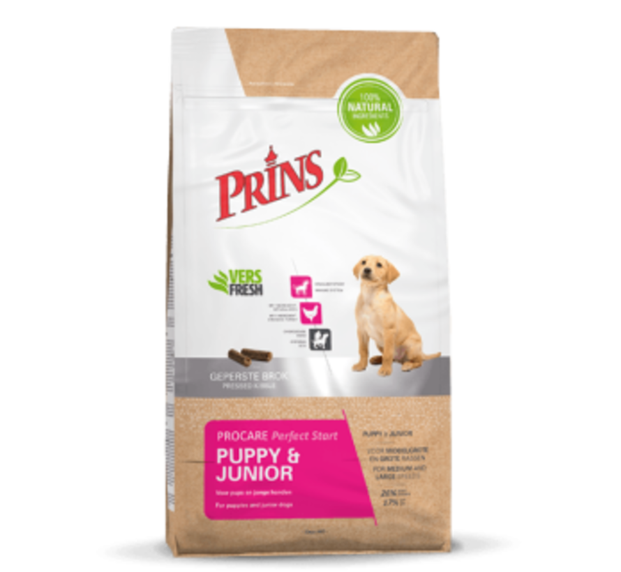 Prins ProCare puppy&junior perfect start 7,5 kg