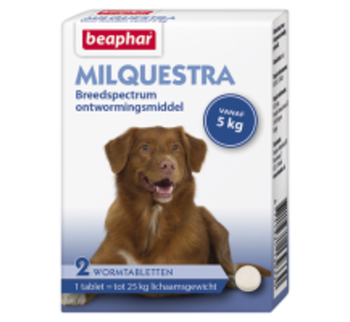 Beaphar Beaphar Milquestra hond (5 tot 50 kg) 2 tabl