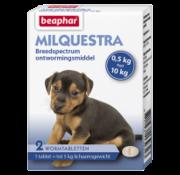 Beaphar Beaphar Milquestra hond klein/ pup (0,5 tot 10 kg) 2 tabl
