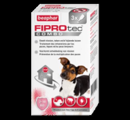 Beaphar Beaphar Fiprotec combo hond 2-10kg 3 pip