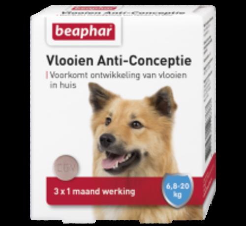 Beaphar Beaphar vlooien anticonceptie hond 6,8-20kg 3 tabl