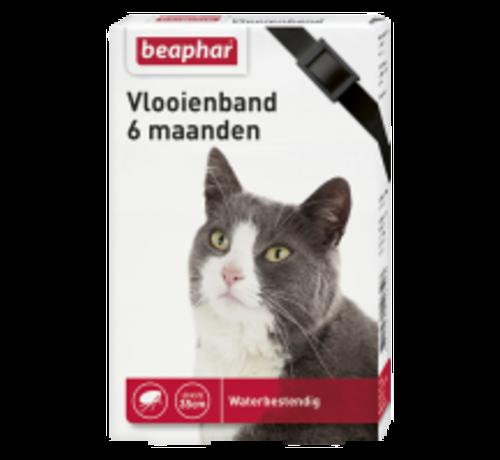 Beaphar Beaphar vlooienband 6 maanden kat zwart