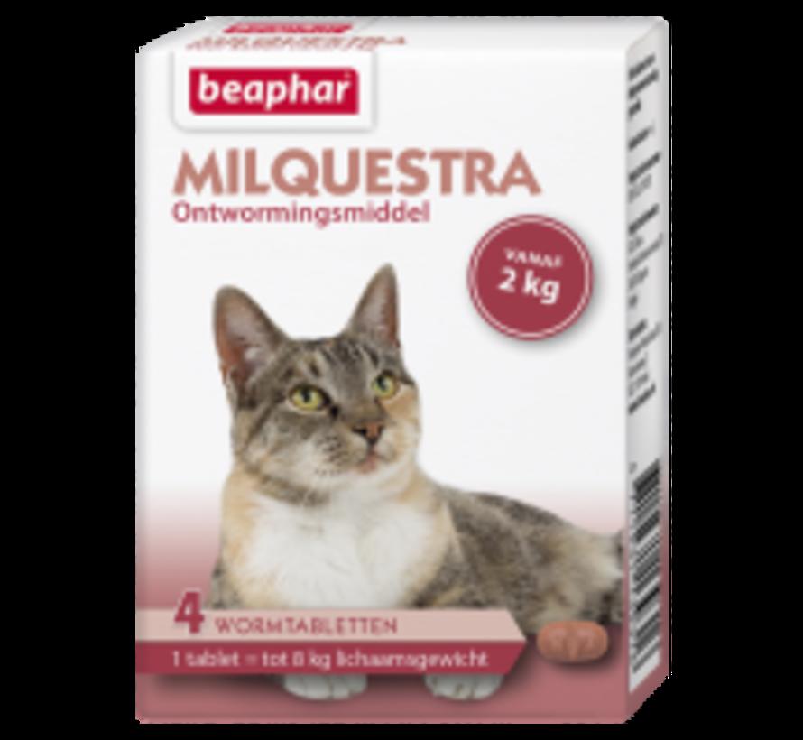 Beaphar Milquestra kat (2 - 12 kg) 4 tabl