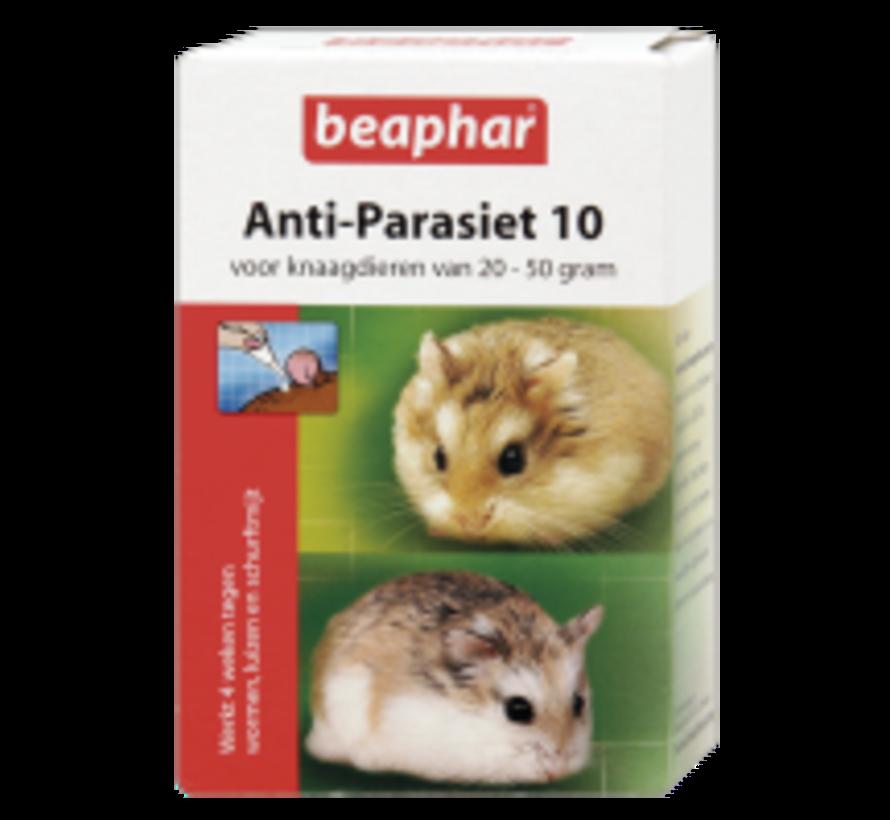 Beaphar anti-parasiet 10 knaagdier s st