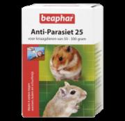 Beaphar Beaphar anti-parasiet 25 knaagdier 2 st