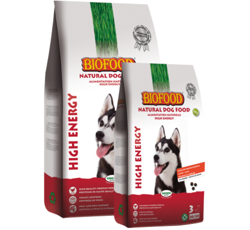 Biofood Biofood high energy/super premium 12,5 kg