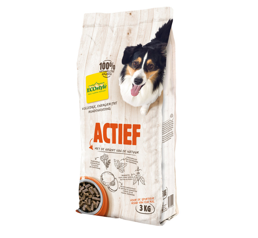 ECOstyle hond actief 3 kg