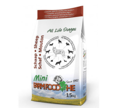 Farm Food Farm Food HE schaap pup/mini 4 kg