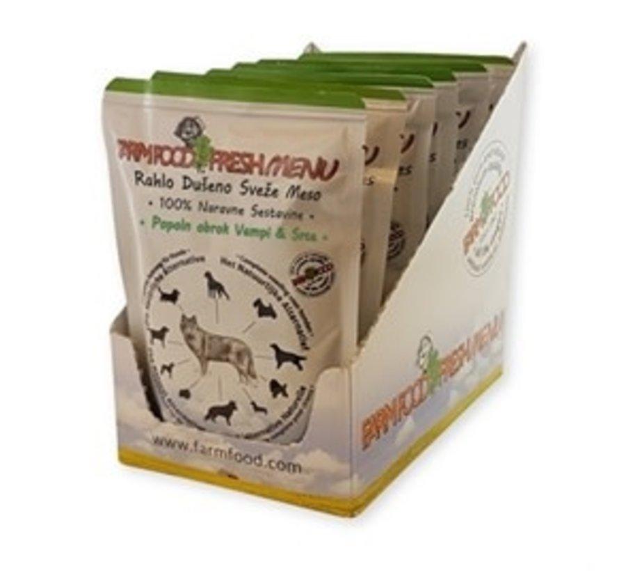 Farm Food Fresh menu pens hart compleet 300 gr