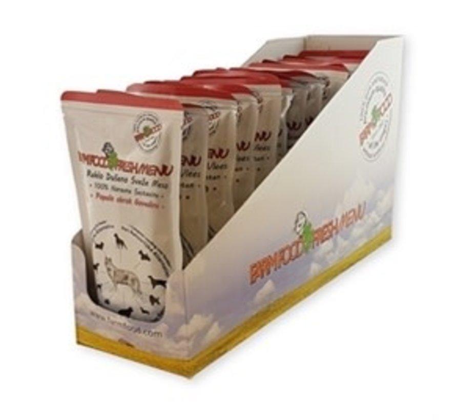 Farm Food Fresh Menu Rundvlees compleet (125 GR)