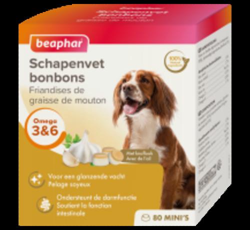 Beaphar Beaphar schapenvet bonbons mini knoflook 245 gr