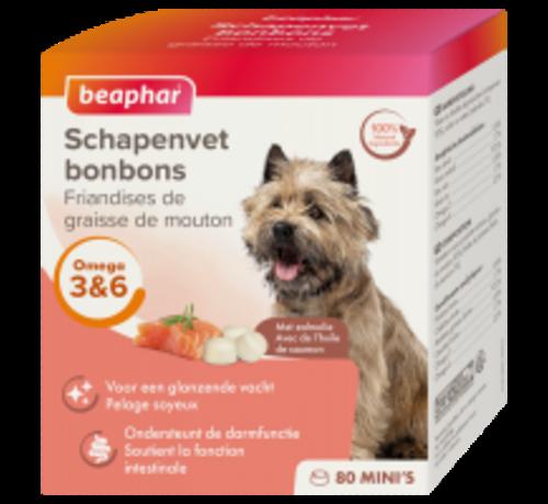 Beaphar Beaphar schapenvet bonbons mini zalm 245 gr