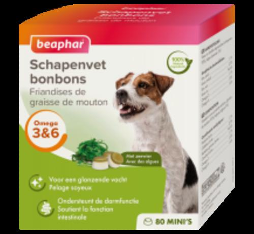 Beaphar Beaphar schapenvet bonbons mini zeewier 245 gr