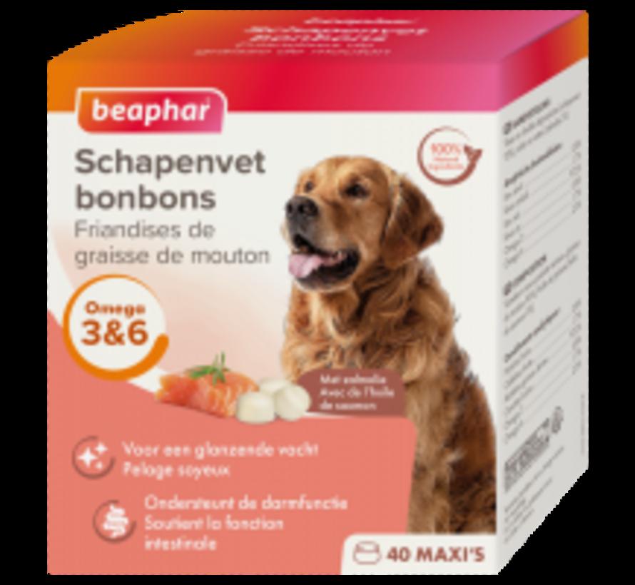 Beaphar schapenvet bonbons zalm 245 gr