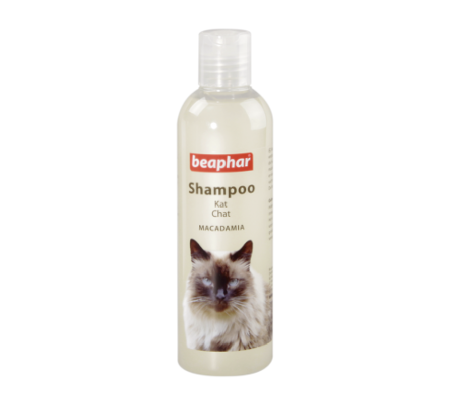 Beaphar macadamia shampoo kat 250 ml
