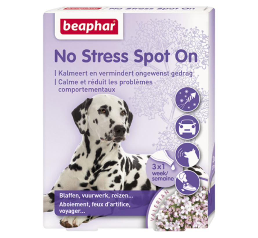 Beaphar No Stress spot on hond 3 pip