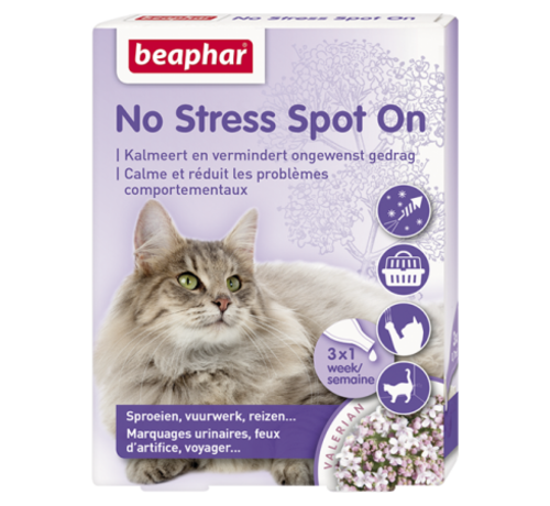 Beaphar Beaphar No Stress spot on kat 3 pip