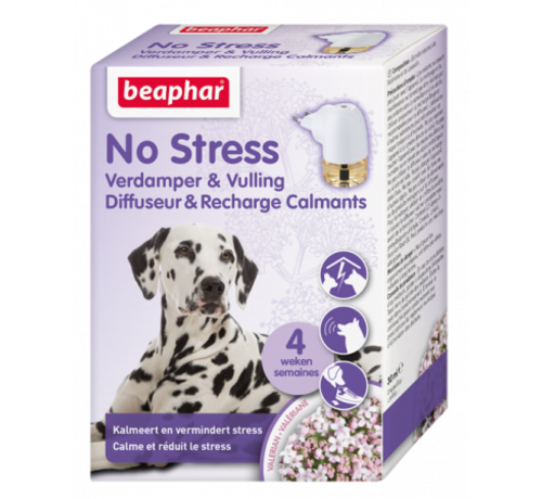 Beaphar No Stress Verdamper+Vulling Hond 1st.