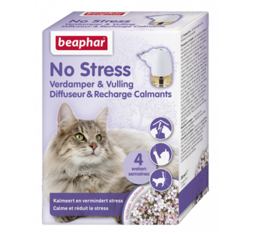Beaphar Beaphar No Stress verdamper+navul kat 30 ml