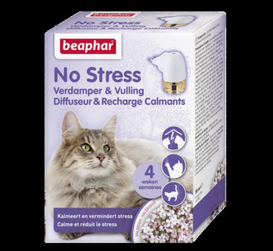 Beaphar No Stress verdamper+navul kat 30 ml