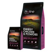 Profine Profine droog ad energy kip/aardappel 15 kg