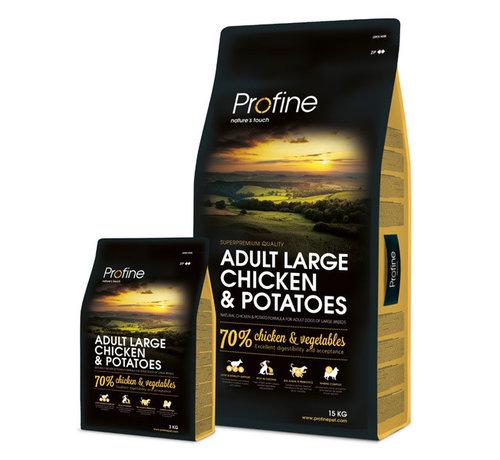 Profine Profine droog ad lrg kip/aardappel 15 kg