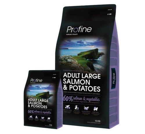 Profine Profine droog ad lrg zalm aardappel 15 kg
