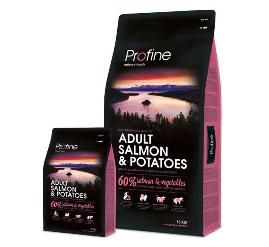 Profine droog ad zalm/aardappel 15 kg