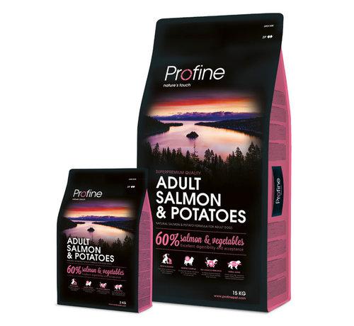 Profine Profine droog ad zalm aardappel 3 kg