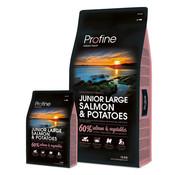 Profine Profine droog jun lrg zalm/aardappel 15 kg