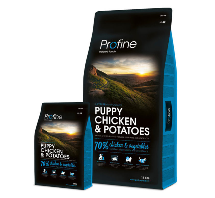 Profine droog puppy kip/aardappel 3 kg