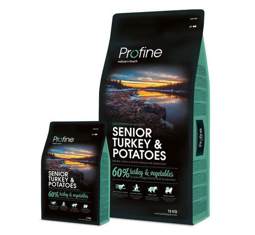 Profine Profine droog senior kalkoen/aardappel 3 kg