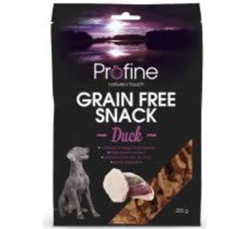 Profine Profine graanvrij snack eend 200 gr