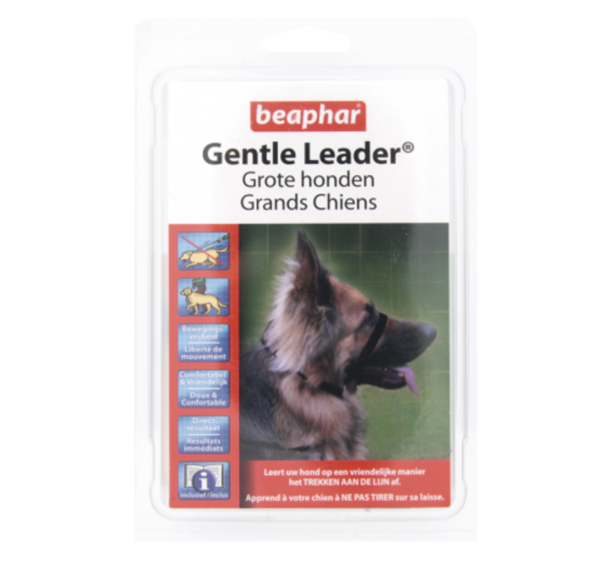 Beaphar Gentle leader large zwart