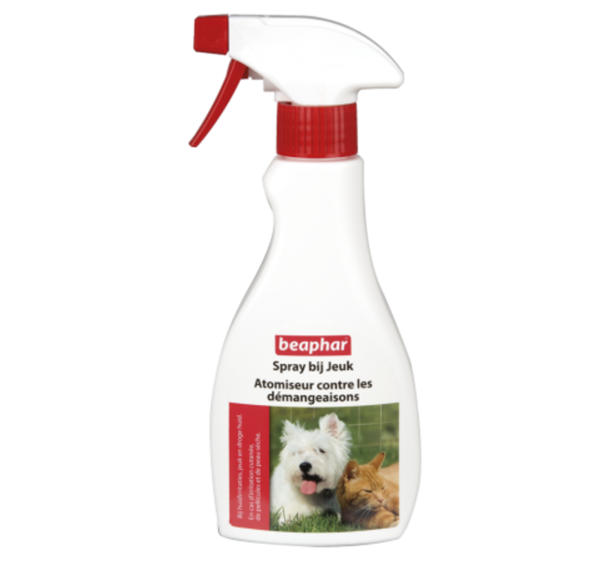 Beaphar spray bij jeuk hond/kat 250 ml