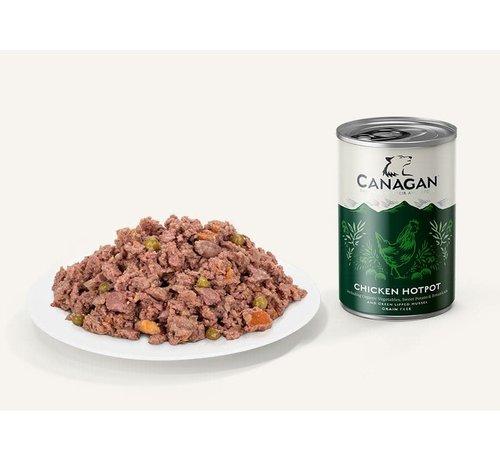 Canagan Canagan Chicken Hotpot blikvoeding 400 gram