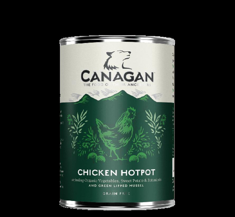 Canagan Chicken Hotpot blikvoeding 400 gram