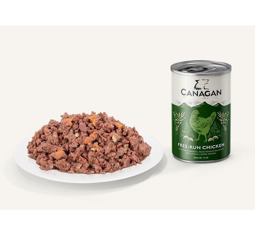 Canagan Free Run Chicken blikvoeding 400 gram