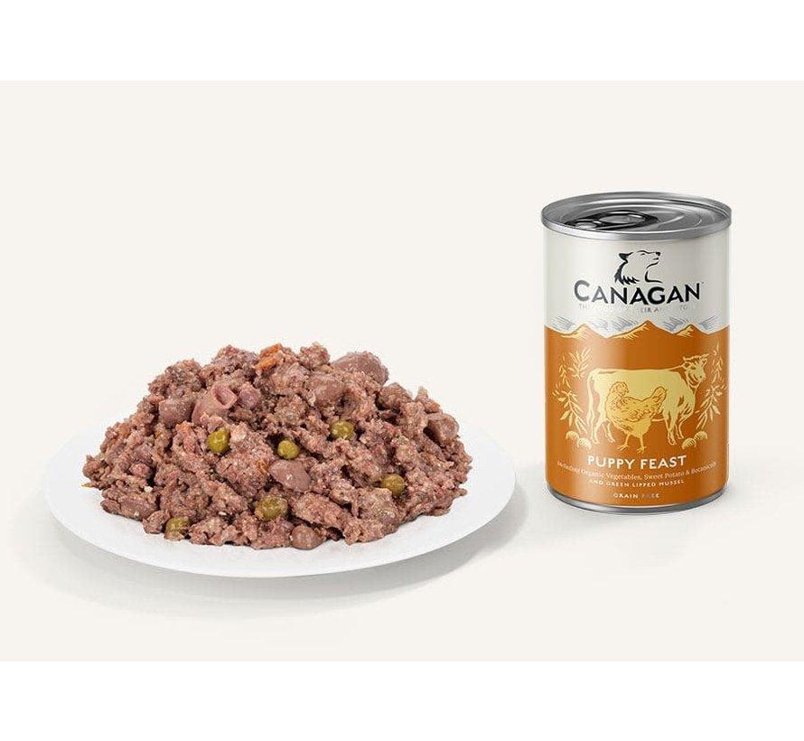 Canagan Puppy Feast blikvoeding 400 gram