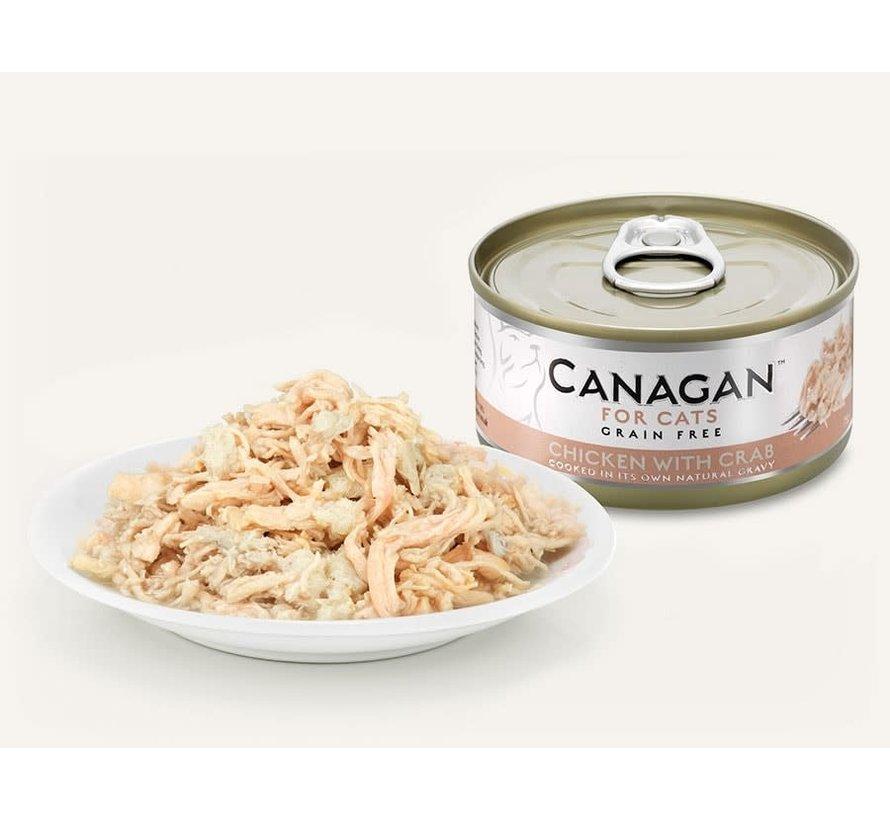 Canagan  Chicken with Crab blik 75 gr
