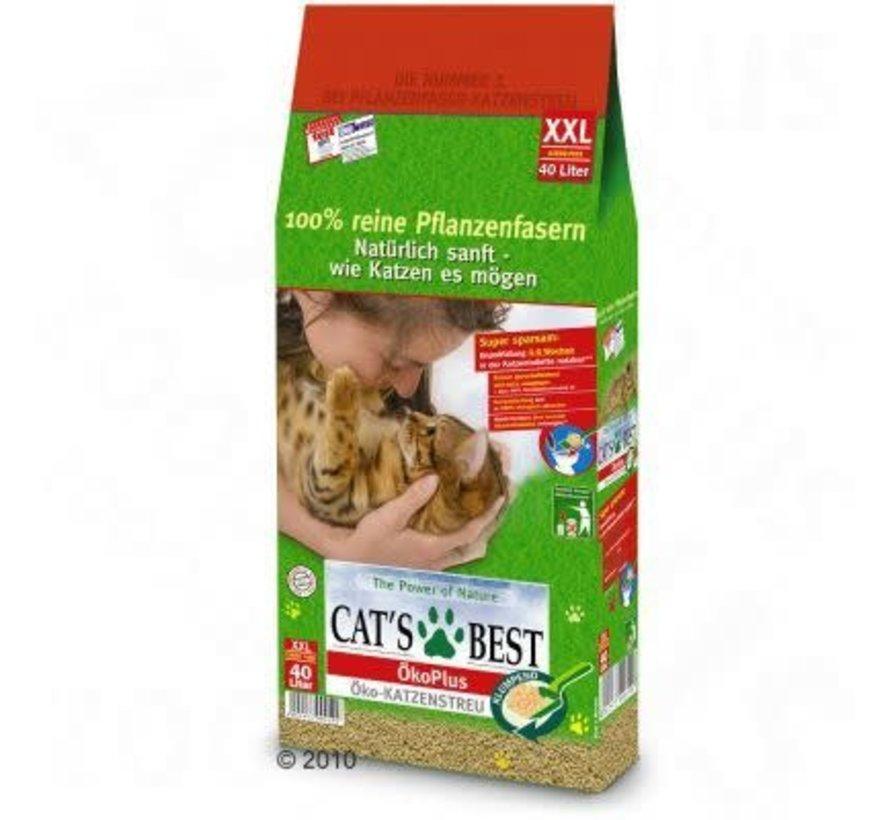 Cat's Best kattenbakkorrels 40 ltr