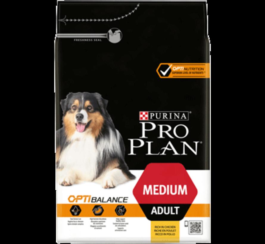 Pro Plan adult medium chicken 3 kg