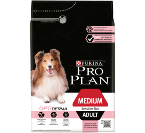 Pro Plan Pro Plan adult medium sensitive skin 3 kg