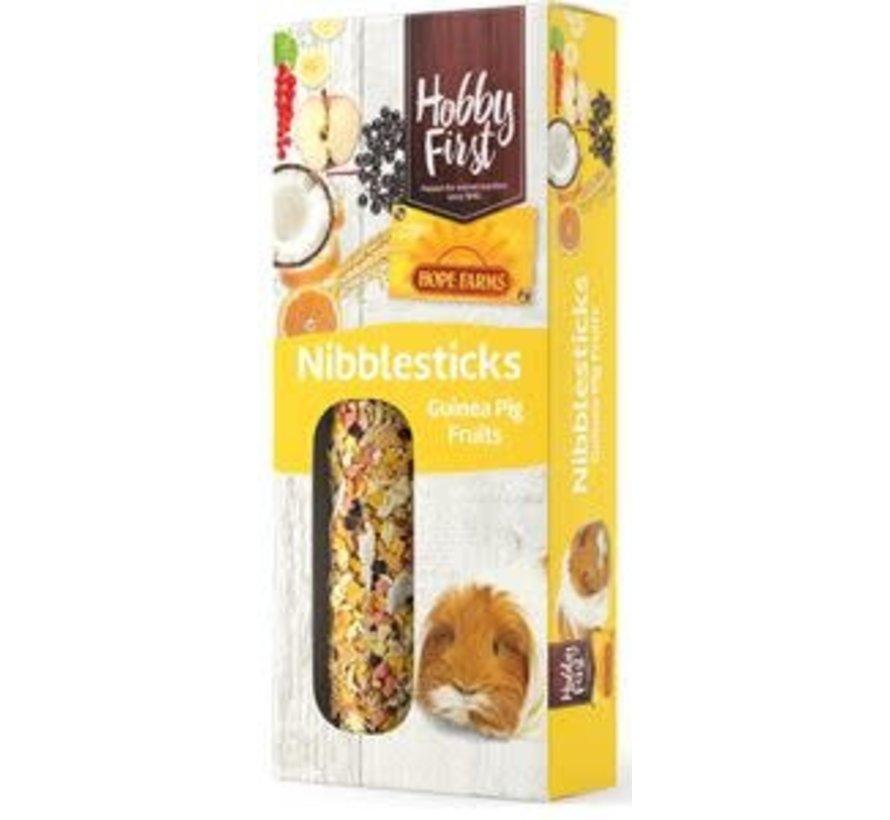 HF hope farms nibble sticks guinea pig fruits 2x90 gr