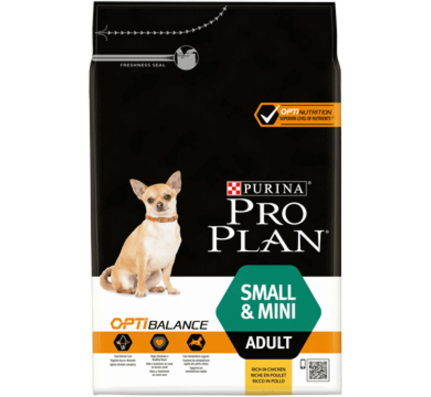 Pro Plan adult small/mini 3 kg