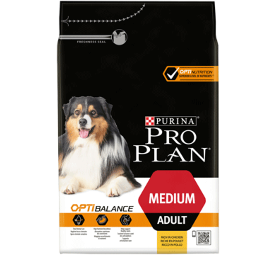 Pro Plan adult medium chicken 14 kg