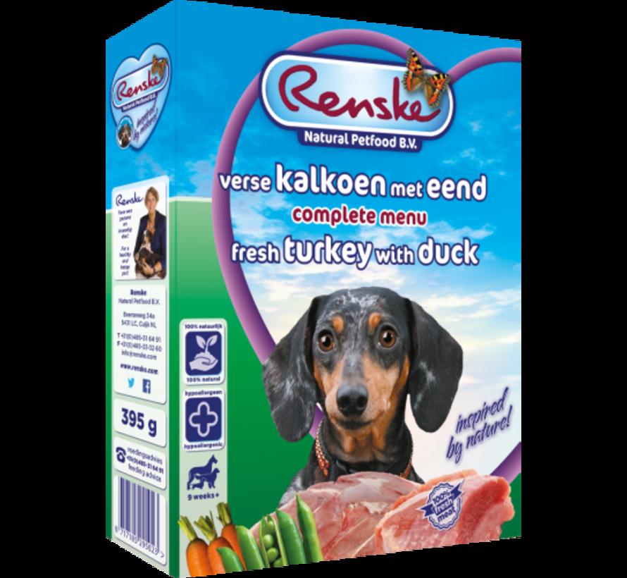 Renske vers hond adult kalkoen eend 395 gr