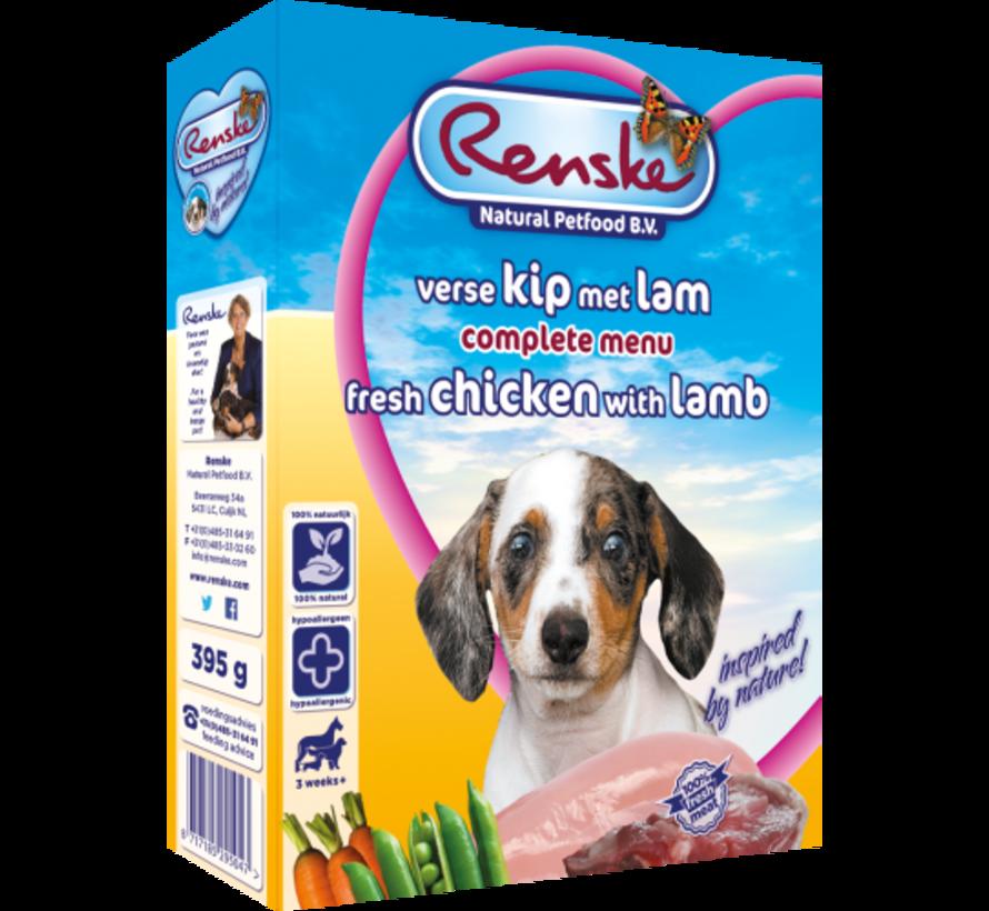 Renske vers hond puppy junior kip lam 395 gr