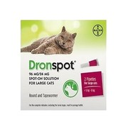Bayer Dronspot grote katten 2 pip